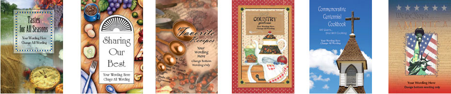 collection of cookbooks from Fundcraft Publishing