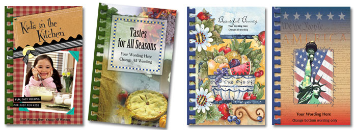fundraising cookbook set 1