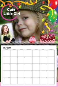 New Photo Calendar design images