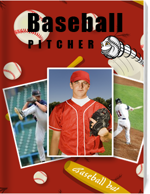 Photo album for baseball player!