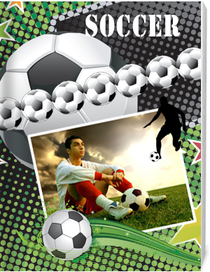 Soccer photo book and photo gifts