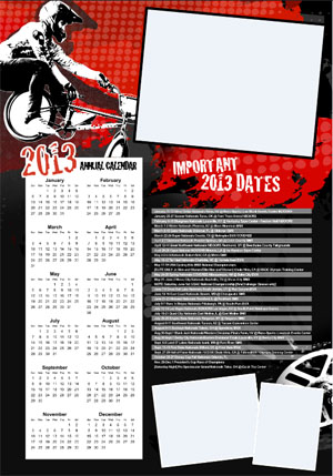 Events for BMX 2013