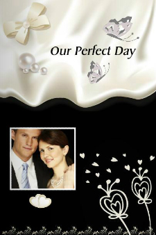 Our Perfect Day Photo Book - Blooming Love Wedding Design