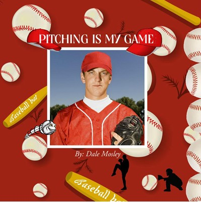 All-Star Baseball Photo Book, Flying Baseball Theme