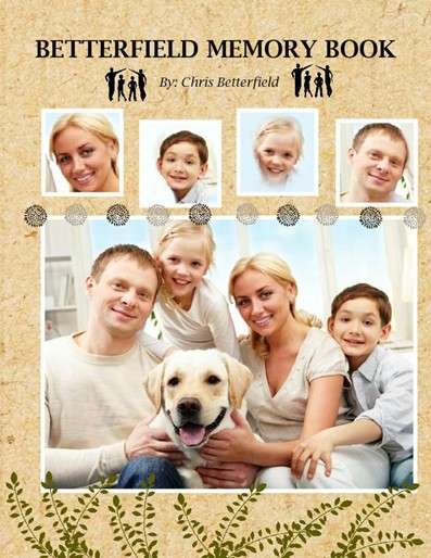 Family Photobook, Family Time Theme