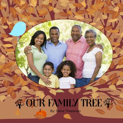 Family Tree Photobook, Fall Feast Theme