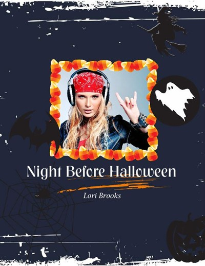 Halloween Photo Albums, Halloween Night Theme