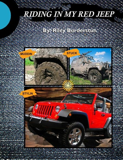 Jeep Riding Photobook, City Jeans Theme