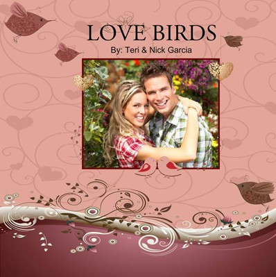 Sweetheart Photobook, Love Birds Theme