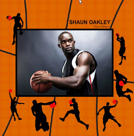 photo album basketball player