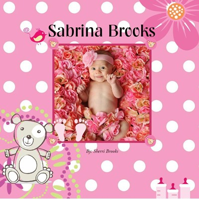 Baby Girl Photo Album,Pink Dream Theme